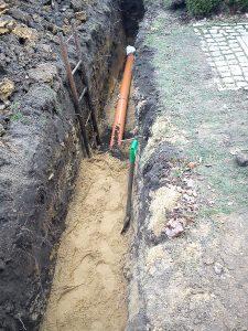 Wymiana rury kanalizacyjnej